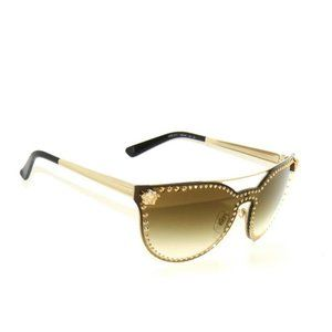 Versace 2177 Gold Brown Sunglasses